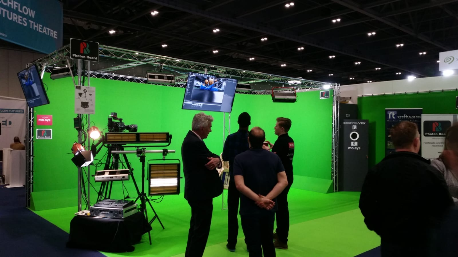 Photon Beard at BVE 2019